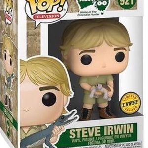Limited Edition Steve Irwin Chase Funko Pop